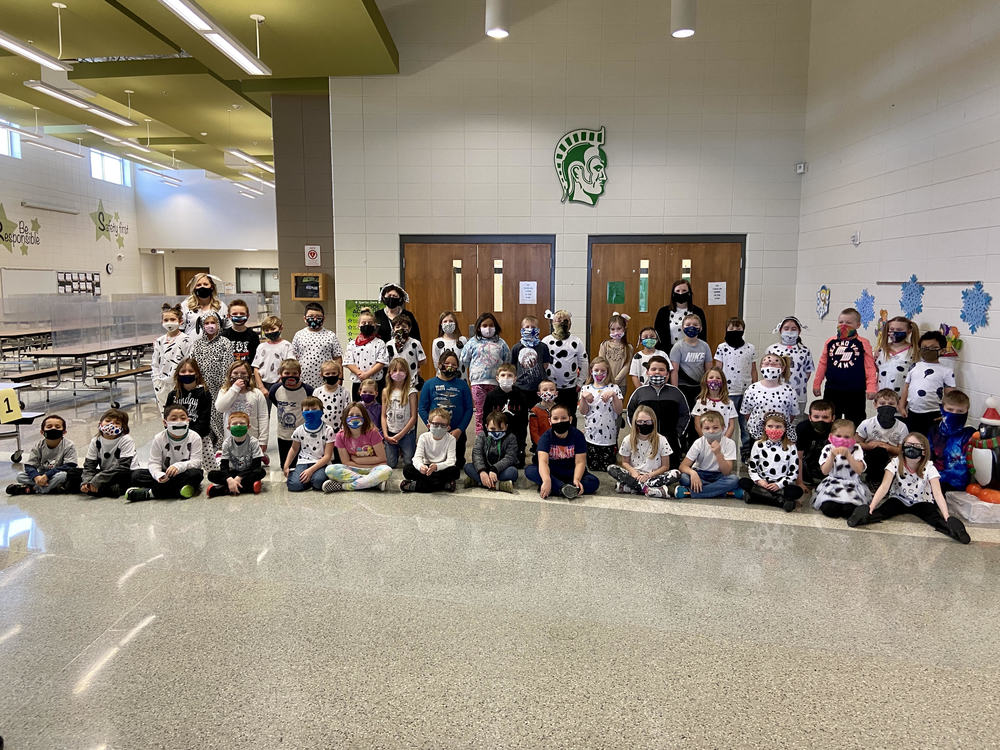 Second Grade Celebrates the 101st Day of School!