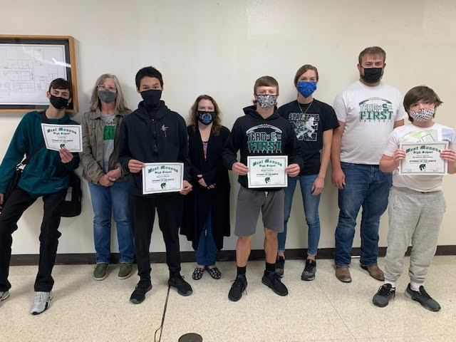 WEST MONONA HS/MS Students of October