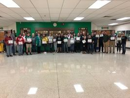 West Monona HS Student's of the Month for September