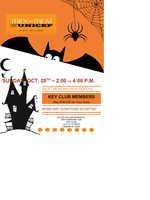 Key Club trick or treat for UNICEF