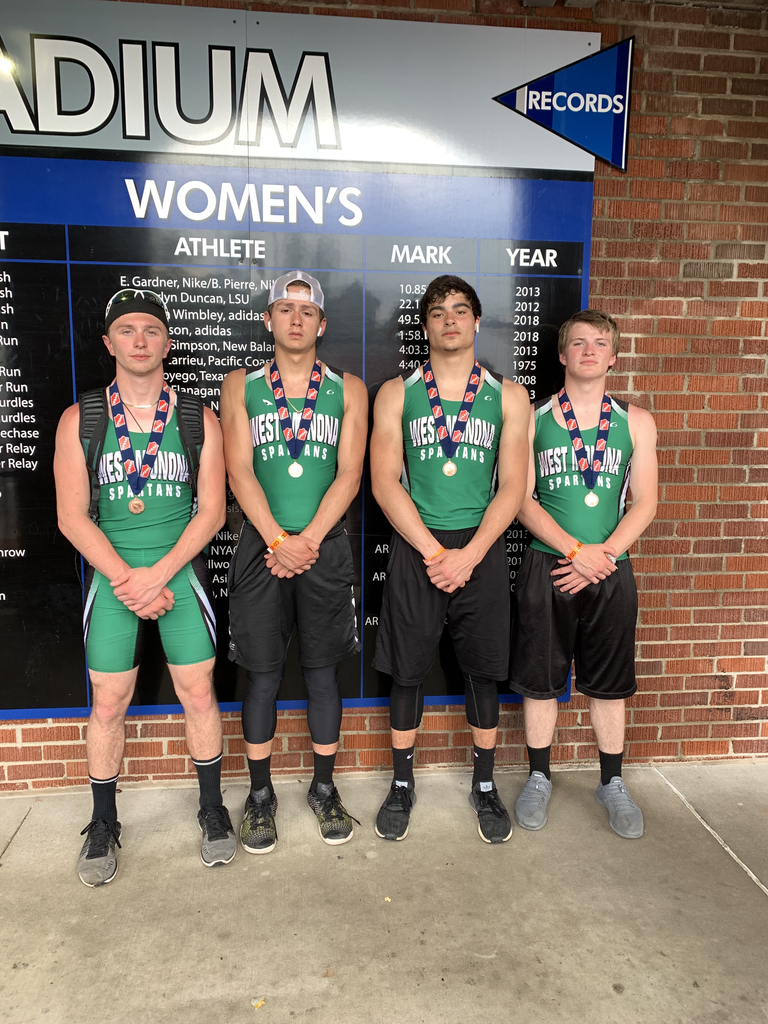Spartan 4x200 3rd place at state